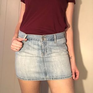 Blue jean Old Navy skirt